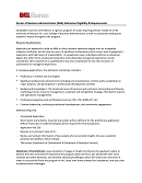 Admission Requirements PDF